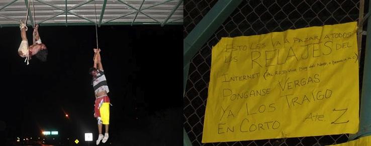 Grisley Cartel Murders a Warning to Nuevo Laredo Residents Using Social Media